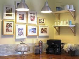 cheap farmhouse decor floral pattern tile backsplash gray kitchen