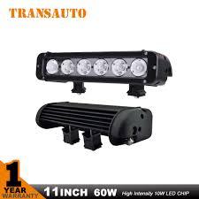 60 inch led light bar transauto 11 inch 60 w dipimpin bar cahaya untuk off road cahaya bar