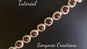 pearl beaded bracelet images Diy pearl beaded bracelet simple and elegant square stitch jpg