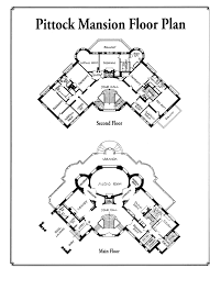 mansions floor plans pittock mansion floor plan 1 fixed points