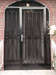 Security Patio Doors Gate And Fence Best Security Doors Security Doors And Windows