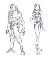 guy and sketch by joeyvazquez on deviantart
