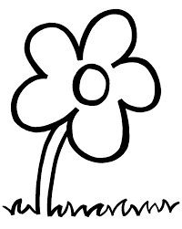 flower coloring page preschool pin by becky wammack on shut in cards