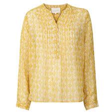 lollys laundry lollys laundry skjorte helena gul hvid ting jeg vil købe