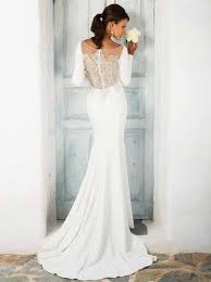 justin wedding dresses sleeve crepe wedding gown justin bridal manor