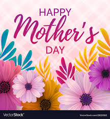 mothers day cards happy mothers day card royalty free vector image