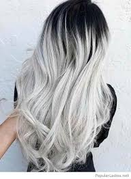 black grey hair to grey hair color style