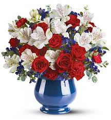 Beautiful Bouquet Of Flowers Sweet Liberty Bouquet Flower Bouquets A Beautiful Bouquet