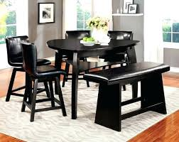 black dining table with bench black dining room table set small dining table set with bench dining
