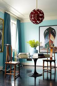 Light Blue Dining Room 15 Beautiful Blue Rooms