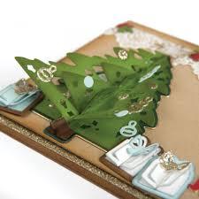 tree flip and fold sizzix thinlits dies katelyn lizardi