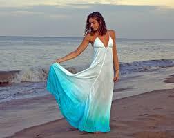 ombre dress blue ombre dress etsy