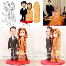 indian wedding cake toppers indian and groom cake toppers