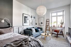 a dreamy scandinavian apartment in shades of blue and grey daily