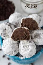 chocolate chip snowball cookies recipe snowball cookies