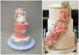 coral wedding cakes coral wedding ideas