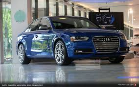 audi s4 nogaro blue special edition announced for usa fourtitude com