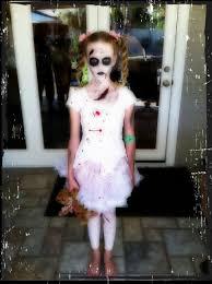 Girls Zombie Halloween Costume Zombie Halloween Makeup Hair U0026 Costume Halloween