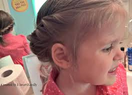toddler hair a toddler friendly hair style for wedding season kandookids 1