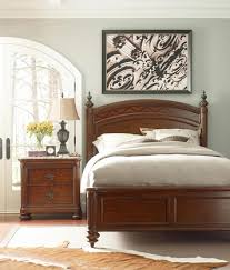 ernest hemingway king swahili panel bed by thomasville furniture