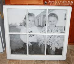 Poster Frame Ideas by Diary Of A Crafty Lady Old Window Big Picture