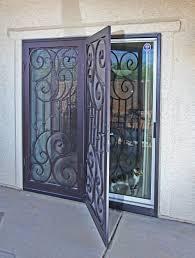 glass security doors security door terminology anatomy of a security door iron