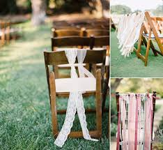 chair ribbons chair decor and styling ideas