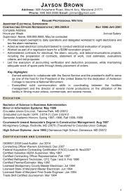 Govt Jobs Resume Format by 93 Exciting Usa Jobs Resume Format Examples Of Resumes Government