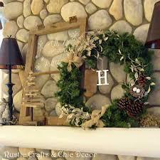 christmas mantel decorating ideas rustic crafts u0026 chic decor