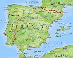 Map Of Italy And Surrounding Countries by Spain Map And Surrounding Countries U2013 World Map Weltkarte Peta