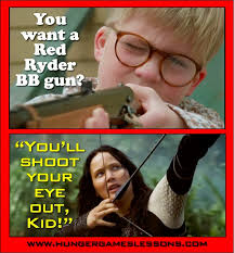 Hunger Games Funny Memes - hunger games lessons a christmas story i frankenstein and