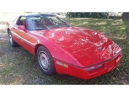 1986 chevrolet corvette for sale on classiccars com 32 available