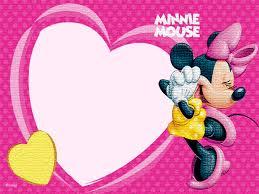 free printable minnie mouse invitation templates 2