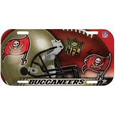 ta bay buccaneers blown glass football player ornament