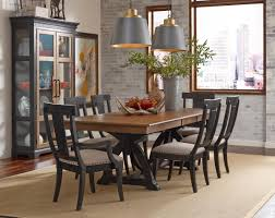 kincaid furniture stone ridge seven piece dining set with