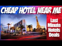 last minute motel