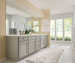 Kitchen With Gray Cabinets Gray Cabinets In Casual Bathroom Diamond Cabinetry