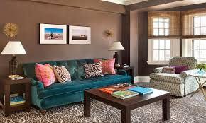 images of teal n brown decor for lounge neutral living rooms