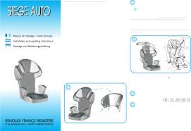 installation siege auto bebe mode d emploi boulgom safeconfort siège auto bébé en ligne