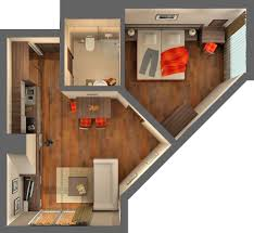 home design small 1 bedroom apartment floor plans a loft in