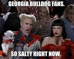 Georgia Bulldog Memes - bulldog tears imgflip