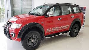 mitsubishi pajero sport 2017 black 2017 mitsubishi pajero sport select plus priced from rs 30 53 lakh