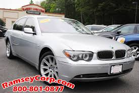 used 2004 bmw 745li for sale west milford nj
