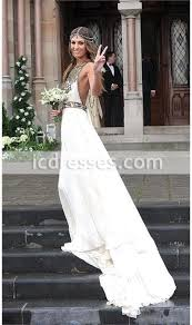 2016 summer beach prom dress wedding dresses a line halter chiffon