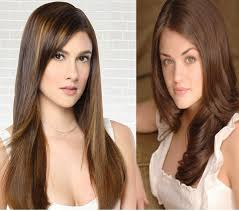 filipina artist with copper brown hair color photos asian hair color ideas filipina women black hairstyle pics