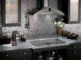 metal kitchen backsplash ideas awesome kitchen backsplash options metal my home design journey