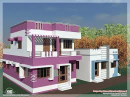 Front Home Design Elevation Kanal Modern Simple House View