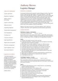 Logistics Resume Examples by Click Here To Download This Import And Purchasing Manager Resume