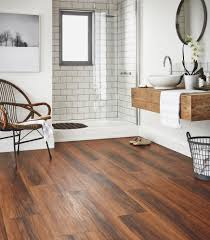 Best Flooring For Bathroom by Wood Tile Bathroom Flooring 12 Shining Ideas Faux Tiles Are A