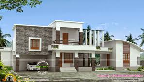 contemporary home 290 square yards kerala home design and floor